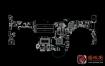Asus FX63V FX503VD DABKLMB28A0 Rev 2.2笔记本点位图