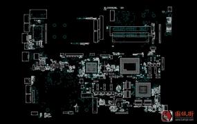 华硕Asus G771JM Rev 2.0 60NB0850-MB3200笔记本点位图