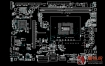ASUS H110-I M32CD4 DP REV 1.04华硕主板点位图