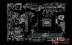 ASUS H81M-C BM6AD_DP/MB REV1.00 1.01主板点位图