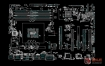 Asus H87-PRO系列华硕主板点位图