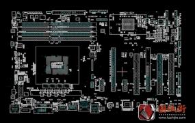 Asus Z87-K系列主板点位图下载