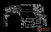 Asus n580vd x580vd rev2.0华硕笔记本点位图