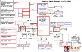 蓝天Clevo N970TD 6-71-N95T0-D02笔记本电路图