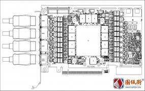 Colorful BATTLEAX RTX3080 GA102BC-E11七彩虹显卡PDF点位图
