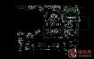 Dell Inspiron 15 3467 3567 3568 15341-SD戴尔笔记本点位图CAD+PDF