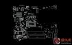 Dell 14-3478 Vegas SKLKBL-U 17841-1 Rev A00笔记本点位图
