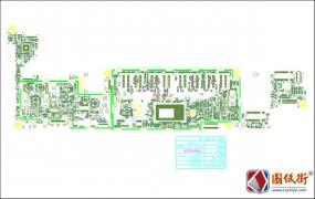 Dell 7350 LA-B331P ZAU70 rev 1.0戴尔笔记本点位图PDF