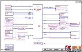 Dell 7350 LA-B331P ZAU70 rev 1.0戴尔笔记本图纸