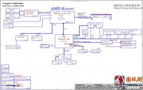 Dell 5545 Compal LA-B651P ZAMB0 ZAMC0 Rev 0.2笔记本电路图