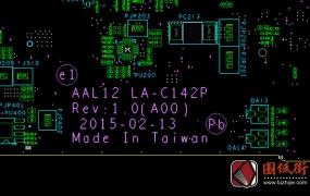 Dell 5455_5555_5755 AAL12 LA-C142P REV1.0戴尔笔记本点位图
