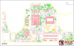 Dell ALIENWARE 17 R3 LA-C912P AAP11/21 REV1.0外星人笔记本PDF点位图