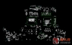 Dell Alienware 15 R3/ 17 R4 LA-D752P Rev: 1.0(A00) 外星人笔记本点位图CAD +PDF