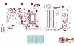 Dell 5368 5468 LA-D822P戴尔笔记本点位图PDF