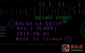 Dell 15-5566 BAL60 LA-D871P Rev 1.0戴尔笔记本点位图