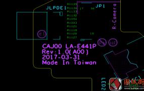 Dell 7285 LA-E441P CAJ00 Rev 1.0戴尔笔记本点位图