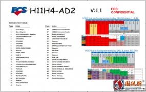 ECS H11H4-AD2 ACER XC-710 REV 1.1主板电路原理图纸