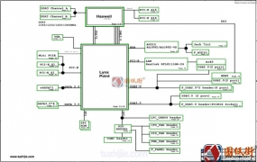 ECS Z87H3-LM REV 1.0精英主板电路原理图纸