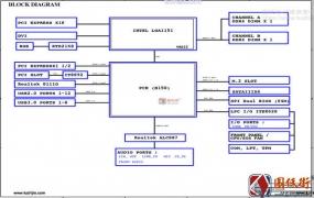 Gigabyte GA-B150M-PIO-SI Rev1.0技嘉主板图纸