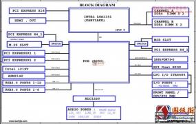 Gigabyte GA-B250M-Gaming 5 Rev1.0技嘉主板图纸