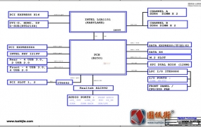 GA-B250M-HD3 Rev 1.0技嘉主板电路图纸