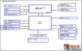 Gigabyte GA-H110M-S2H DDR3 Rev1.0技嘉主板电路原理图纸