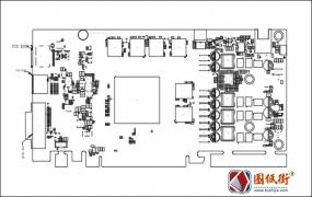 GALAX GTX1060 P65U Rev V10影驰显卡点位图PDF