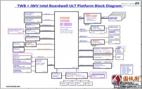 Hasse B5-i54572D1 Quanta TWB JWV DATWBMB16A0 DA0JWVMB6A0 REV 2A神舟笔记本图纸