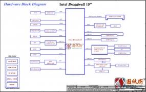HP 15-ay/250 G5 BDL50 LA-D704P Rev. 0.3 PV惠普笔记本图纸