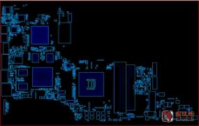 HP DV6 QUANTA LX6-MB-I惠普笔记本点位图