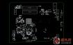 HP 15-F039WM Quanta U87 U88 DAU88MMB6A0 REV A惠普笔记本点位图