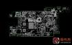 HP Pavilion x2 12-b Quanta YB3B DAYB3BMBAD0惠普笔记本点位图