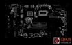 MSI GE72VR GE62VR MS-16J9/MS-1799微星笔记本主板点位图