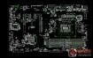 MSI Z270-A PRO MS-7A71 Rev1.2微星主板点位图CAD