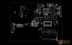 QUANTA X1P Y19C DAX1PDMB8E0广达笔记本点位图