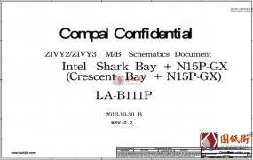 Lenovo Y50-70 ZIVY2_ZIVY3 LA-B111P Rev 0.2 1.0联想笔记本图纸