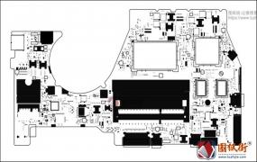 Lenovo 700-14ISK BYG43 NM-A601 Rev 1.0联想笔记本位号图