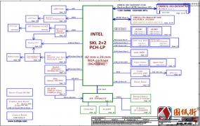 ThinkPad L460 BL460 NM-A651 Rev:1.0联想笔记本电路图
