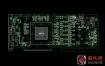 nVidia GeForce GTX1080 PG413 GP104 1G413-A00显卡点位图