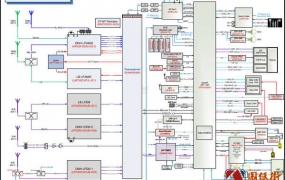 三星note9 SM-N960F元件位号图 逻辑框图 维修手册